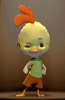 """Hola """"pequeño pollo"""" ;P"""